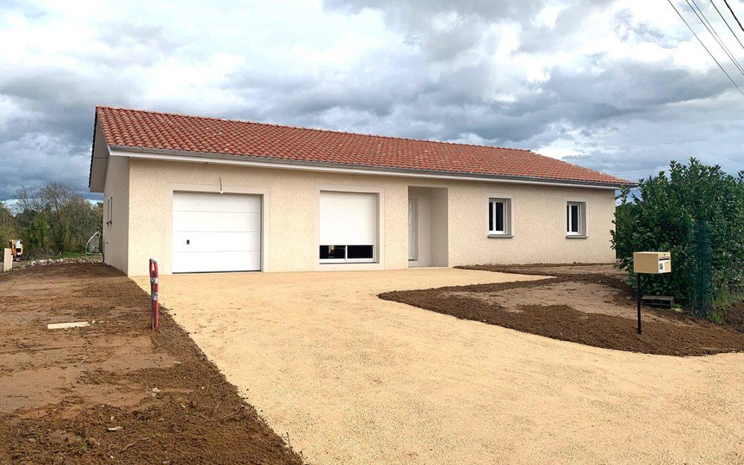 Aménagement d'une habitation à Garnerans